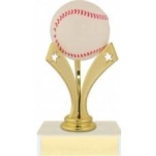 """6"""" Tri Star Baseball Trophy"""